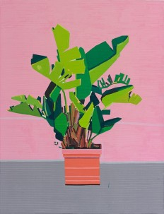© Guy Yanai, Bye Sicily, 2015, oil on linen, 130 x 100 cm