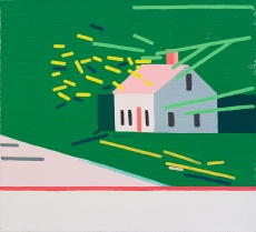 © Guy Yanai, House Without Rooms (Maine), 2015, oil on linen, 64 x 70 cm