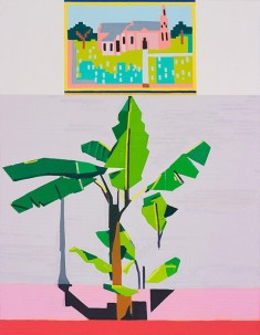 © Guy Yanai, End of Europe (Jerusalem), 2015, oil on linen, 130 x 100 cm