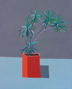 © Guy Yanai, Home September, 2015, oil on linen, 148 x 120 cm