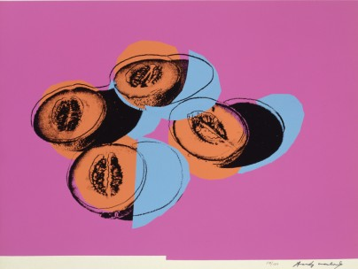 © Andy Warhol, Space Fruit (Cantaloupes II), 1979, courtesy of Warhol Foundation for the Visual Arts
