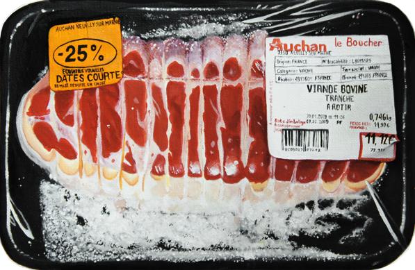 © Aranthell, 0,746kg, 2012, huile sur toile, 23 x 16 cm
