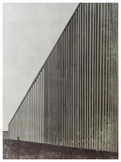 Galerie l'Art à la Page // Franziska Neubert, Zwölf, 2010, linogravure, 60 x 80 cm © Franziska Neubert