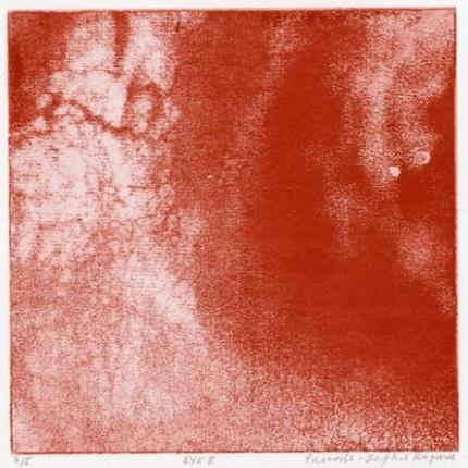 Véronique Smagghe // Pascale Sophie Kaparis, EYE 8, photogravure, 32,5 cm x 32,5 cm, 15 x 15 cm (détail)
