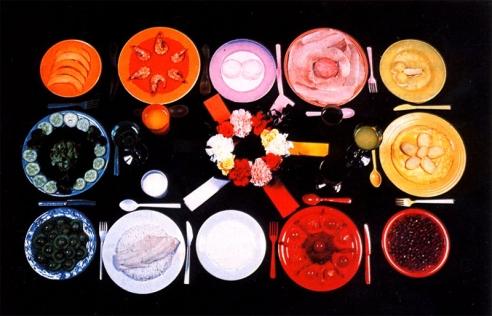 © Sophie Calle, Dimanche (De l'obéissance... le régime chromatique), 1997