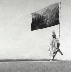 © Ethan Murrow, The Yoke, série 100 ans de solitude, graphite sur papier, 2015, 122 x 122 cm, pièce unique