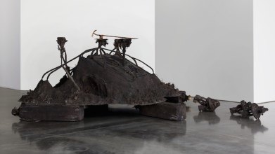 Matthew Barney Canopic Chest, 2011 Cast bronze Laurenz-Stiftung, Basel © Matthew Barney Courtesy Gladstone Gallery, New York and Brussels