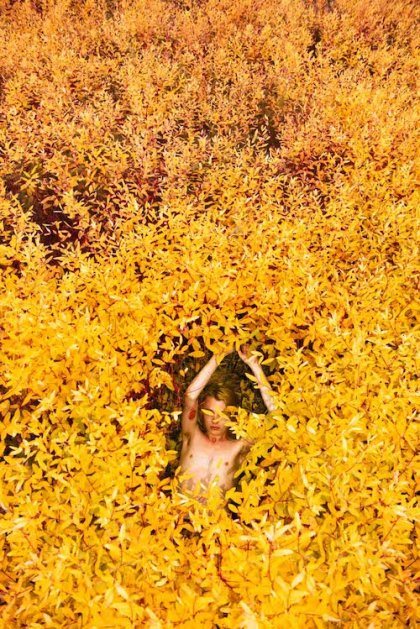 © Ryan McGinley, Dogbane (Split), 2015, courtesy of the artist