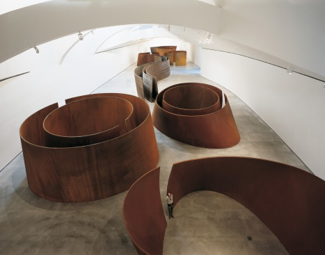 © Richard Serra, La Matière du Temps, courtesy of the artist