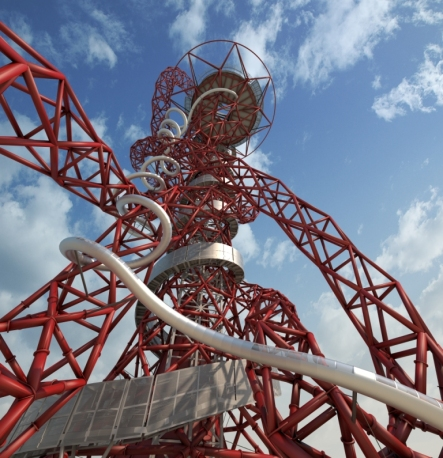 © Vue de l'Arcelor Mittal Orbit , Anish Kapoor