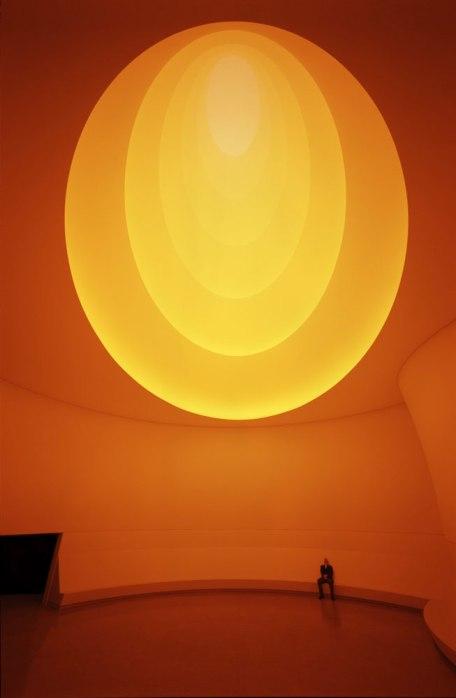 © James Turrell, vue du Guggenheim NY, 2013